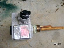 water heater gas valve