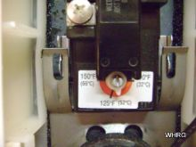 replacing hot water heater thermostat