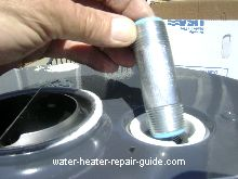 die electric nipple for water heater