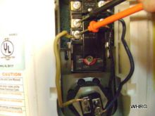 check power on thermostat