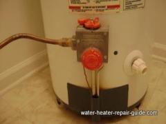 older style gas water heater