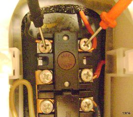 240 volts at water heater